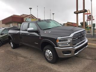 New 2019 RAM 3500 New Laramie Crew Cab 4x4 Dually Diesel for sale in Medicine Hat, AB