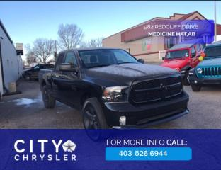 Used 2018 RAM 1500 ST Express Blackout for sale in Medicine Hat, AB