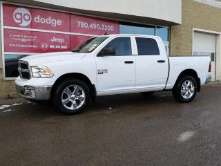 New 2019 RAM 1500 Classic Tradesman 4x4 Crew Cab / Heated Front Seats & Steering Wheel / Back Up Camera for sale in Edmonton, AB