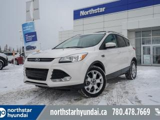 Used 2016 Ford Escape TITANIUM/AWD/LEATHER/PANOROOF/NAV/BACKUPCAM for sale in Edmonton, AB