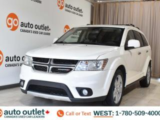 Used 2012 Dodge Journey R/T, 3.6L V6, Awd, Third row 7 passenger seating, Navigation, Heated leather seats, Sunroof, Bluetooth for sale in Edmonton, AB