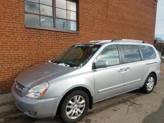 Used 2010 Kia Sedona EX-leather sunroof-DVD-POWER SLIDE DOOR for sale in Oakville, ON