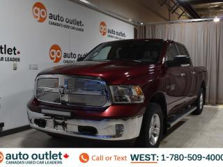 Used 2017 RAM 1500 SLT, 5.7l V8, 4WD, Crew Cab, Short box, Tow/Haul, Cloth seats, Backup camera, Bluetooth for sale in Edmonton, AB