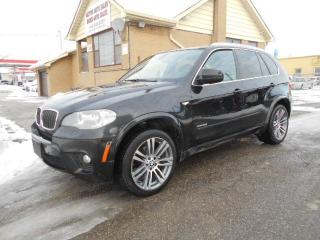 Used 2012 BMW X5 35i X-Drive M-Package Black on Black Loaded 199Km for sale in Rexdale, ON