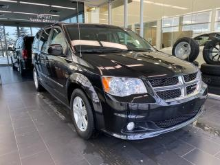 Used 2017 Dodge Grand Caravan Crew, ACCIDENT FREE, CRUISE CONTROL, REAR CLIMATE CONTROLS, ECON MODE for sale in Edmonton, AB