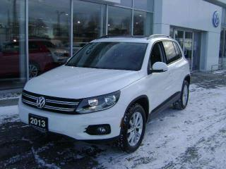 Used 2013 Volkswagen Tiguan COMFORTLINE 4-MOTION for sale in Cornwall, ON