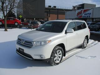 Used 2012 Toyota Highlander ~ 7 PASS. ~ AWD for sale in Toronto, ON