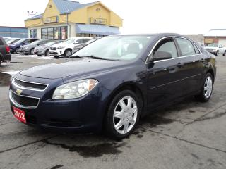 Used 2012 Chevrolet Malibu LS 2.4L 4cyl for sale in Brantford, ON