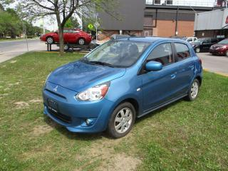 Used 2014 Mitsubishi Mirage SE ~ LOW KM ~ HEATED SEATS for sale in Toronto, ON