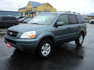 Used 2005 Honda Pilot EX-L 3.5L 4x4 LeathHeatedSeats MoonRoof 8 Pass for sale in Brantford, ON