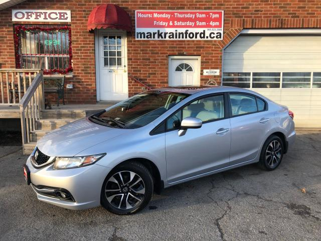 2014 Honda Civic EX Auto Sunroof BT Back Up Cam Sideview Monitor
