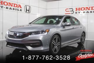 Used 2017 Honda Accord Sport Berline CVT for sale in St-Basile-le-Grand, QC