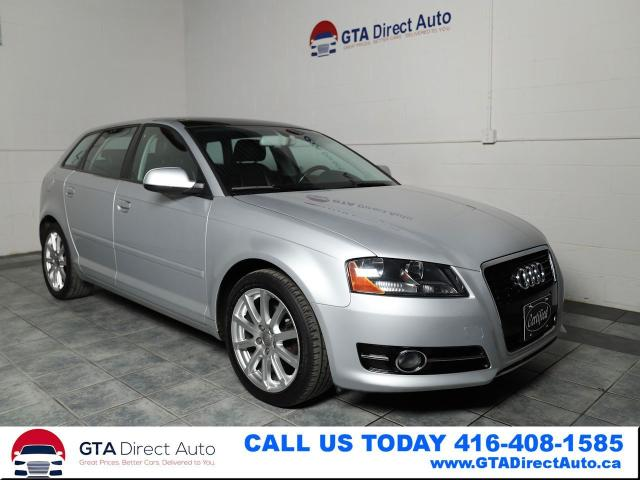 2011 Audi A3 TDI Premium Panoroof Stronic Leather Certified