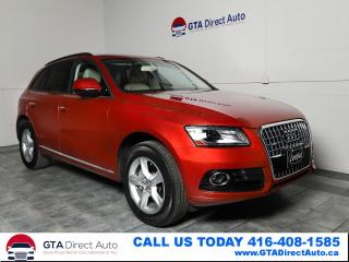 Used 2015 Audi Q5 2.0T Quattro AWD Komfort Leather Xenons Certified for sale in Toronto, ON