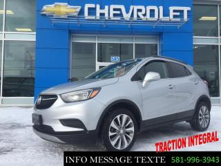 Used 2019 Buick Encore AWD, 0% D'INTERET for sale in Ste-Marie, QC