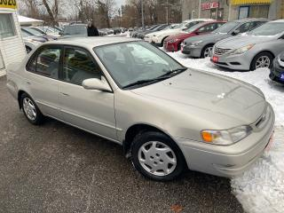 Used 2000 Toyota Corolla LE/ AUTO/ POWER GROUP/ CRUISE CONTROL/ LOADED! for sale in Scarborough, ON