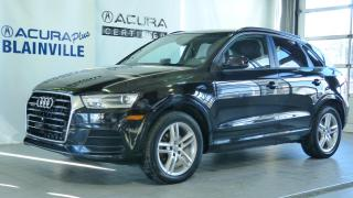Used 2017 Audi Q3 2.0T Komfort Quattro for sale in Blainville, QC