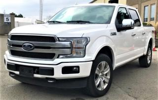 Used 2019 Ford F-150 PLATINUM for sale in Burlington, ON