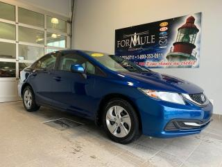 Used 2013 Honda Civic LX for sale in Rimouski, QC