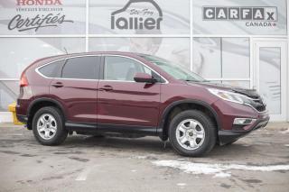 Used 2016 Honda CR-V SE AWD ***GARANTIE GLOBALE JUSQU EN SEPT for sale in Québec, QC