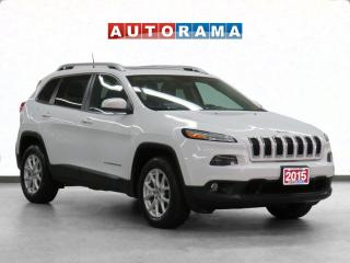Used 2015 Jeep Cherokee Latitude 4x4 Nav Leather Backup Cam for sale in Toronto, ON