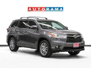 Used 2015 Toyota Highlander XLE 4WD Nav Leather Sunroof Backsup Cam 8Pass for sale in Toronto, ON
