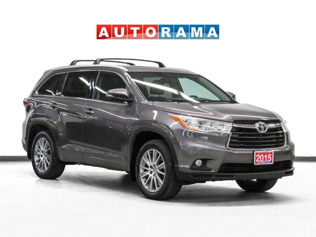 2015 Toyota Highlander XLE 4WD Nav Leather Sunroof Backsup Cam 8Pass