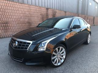 Used 2013 Cadillac ATS 3.6L-V6-AWD-NAVI-CAMERA-SUNROOF-REMOTE START for sale in Toronto, ON
