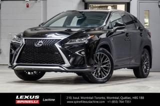 Used 2016 Lexus RX 350 F SPORT II AWD; **RESERVE / ON-HOLD** SUSPENSION VARIABLE ADAPTATIVE - TOIT-OUVRANT - NAVIGATION - ÉCRAN 12.3'' - MONITEUR ANGLES MORT for sale in Lachine, QC