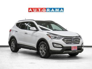Used 2015 Hyundai Santa Fe Sport Luxury 4WD Leather Panoramic Sunroof Backup Cam for sale in Toronto, ON