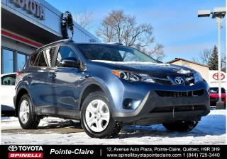 Used 2014 Toyota RAV4 LE FWD for sale in Pointe-Claire, QC