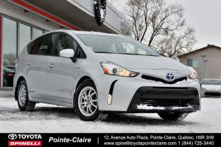 Used 2017 Toyota Prius V V PNEUS NEUF HIVER!!!! for sale in Pointe-Claire, QC