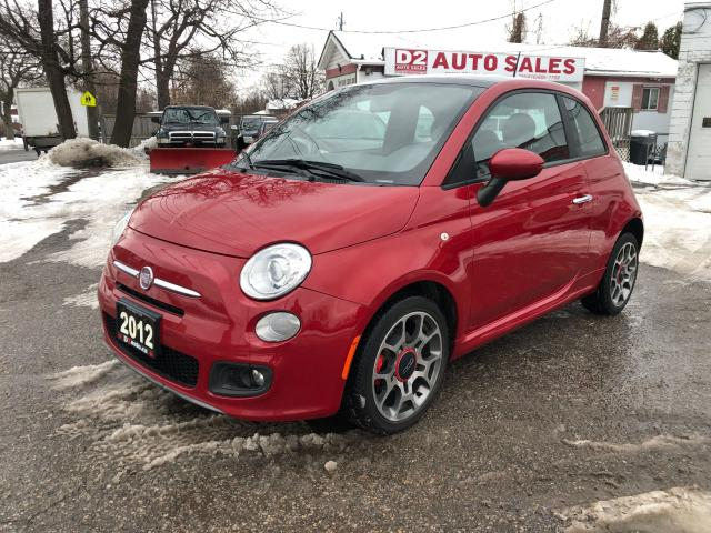 2012 Fiat 500 Sport/Automatic/Accident Free/1 Owner/Certified