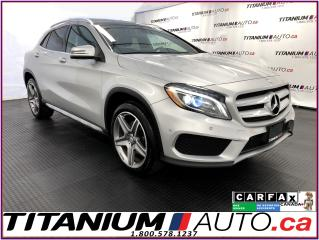 Used 2016 Mercedes-Benz GLA 4Matic+GPS+Camera+Pano Roof+Blind Spot+Park Sensor for sale in London, ON