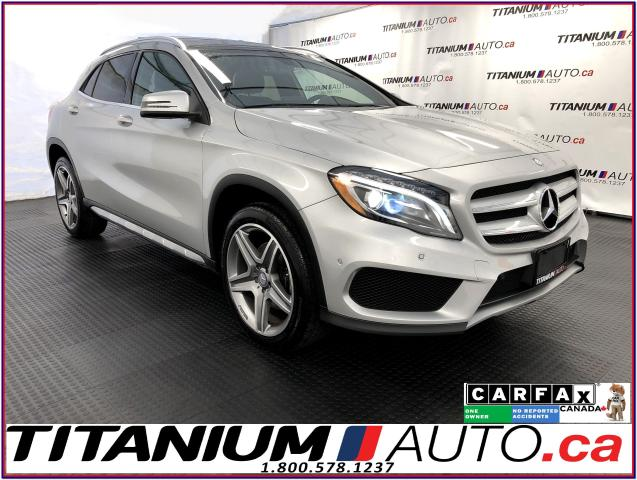 2016 Mercedes-Benz GLA 4Matic+GPS+Camera+Pano Roof+Blind Spot+Park Sensor