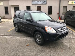 Used 2005 Honda CR-V EX-L Auto,AWD,LEATHER,SUNROOF,NO ACCIDENTS for sale in Burlington, ON