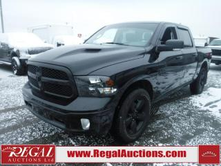 Used 2018 RAM 1500 BIG HORN 4D CREW CAB SWB 4WD 3.0L for sale in Calgary, AB