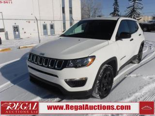 Used 2018 Jeep Compass Sport 4D Utility FWD 2.4L for sale in Calgary, AB