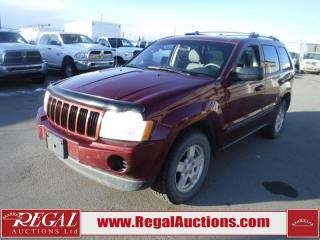 Used 2007 Jeep Grand Cherokee Laredo 4D Utility 4WD 3.7L for sale in Calgary, AB