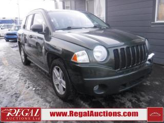 Used 2007 Jeep Compass Sport 4D Utility for sale in Calgary, AB