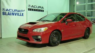 Used 2017 Subaru Impreza WRX 6 VITESSES ** UN PROPRIO ** JAMAIS ACCID for sale in Blainville, QC