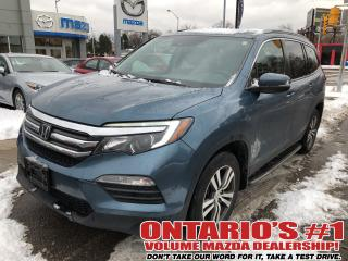 Used 2016 Honda Pilot AWD,NAVIGATION,BACKUP CAM LEATHER SEATING !!! for sale in Toronto, ON