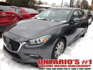 Used 2017 Mazda MAZDA3 BACKUP CAM,SUNROOF,HEATED SEATS !!! for sale in Toronto, ON