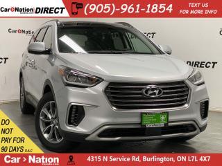 Used 2019 Hyundai Santa Fe XL Luxury 6-Passenger| AWD| LEATHER| PANO ROOF| for sale in Burlington, ON