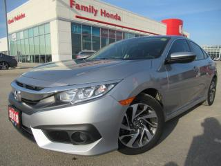 Used 2018 Honda Civic Sedan EX CVT for sale in Brampton, ON