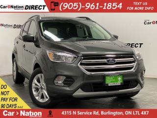 Used 2018 Ford Escape SE| HEATED SEATS| BACK UP CAMERA| for sale in Burlington, ON