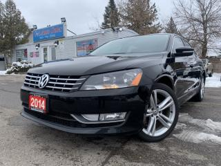 Used 2014 Volkswagen Passat 4dr Sdn 2.0 TDI Highline |ACCIDENT FREE| FULLY LOADED| for sale in Brampton, ON