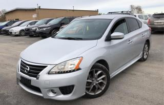 Used 2013 Nissan Sentra 4dr Sdn SR, alloys, no accidents for sale in Halton Hills, ON