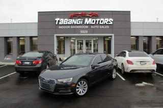 Used 2017 Audi A4 NO ACCIDENTS I LEATHER I SUNROOF I HEATED SEATS I PUSH START for sale in Mississauga, ON