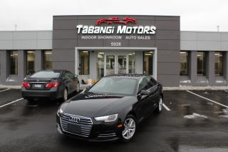 2017 Audi A4 QUATTRO I LEATHER I SUNROOF I HEATED SEATS I PUSH START